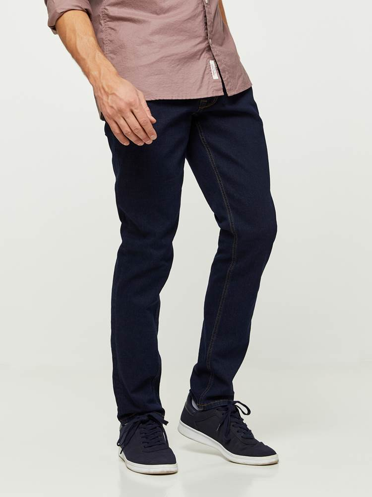 SLIM WILL DARK BLUE STRETCH 7235637_D03-HENRYCHOICE-NOS-Modell-left_40126_SLIM WILL DARK BLUE STRETCH D03.jpg_Left||Left