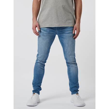 Skinny Stan Mid Blue Super Str