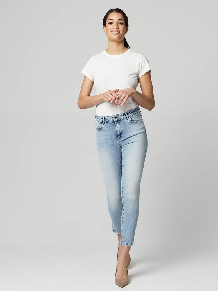 Sabine Cropped Jeans 7246410_DAF-JEANPAULFEMME-S21-Modell-front_75556_Sabine Cropped Jeans DAF.jpg_Front||Front