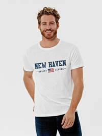 New Haven T-skjorte 7246181_O79-Redford-S21-Modell-Front_New Haven T-skjorte O79.jpg_Front||Front