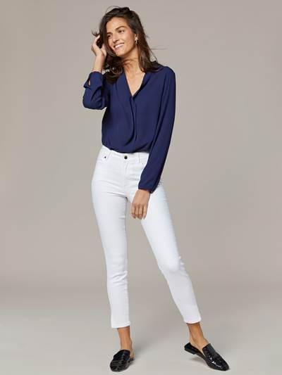 Sabine Cropped Color Jeans O68