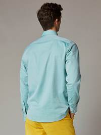 Carl Twill Skjorte - Regular Fit 7241951_GLJ-JEANPAUL-S20-Modell-back_24776_Carl Twill Skjorte - Regular Fit GLJ.jpg_Back||Back
