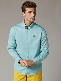 Carl Twill Skjorte - Regular Fit 7241951_GLJ-JEANPAUL-S20-Modell-front_90182_Carl Twill Skjorte - Regular Fit GLJ.jpg_Front||Front