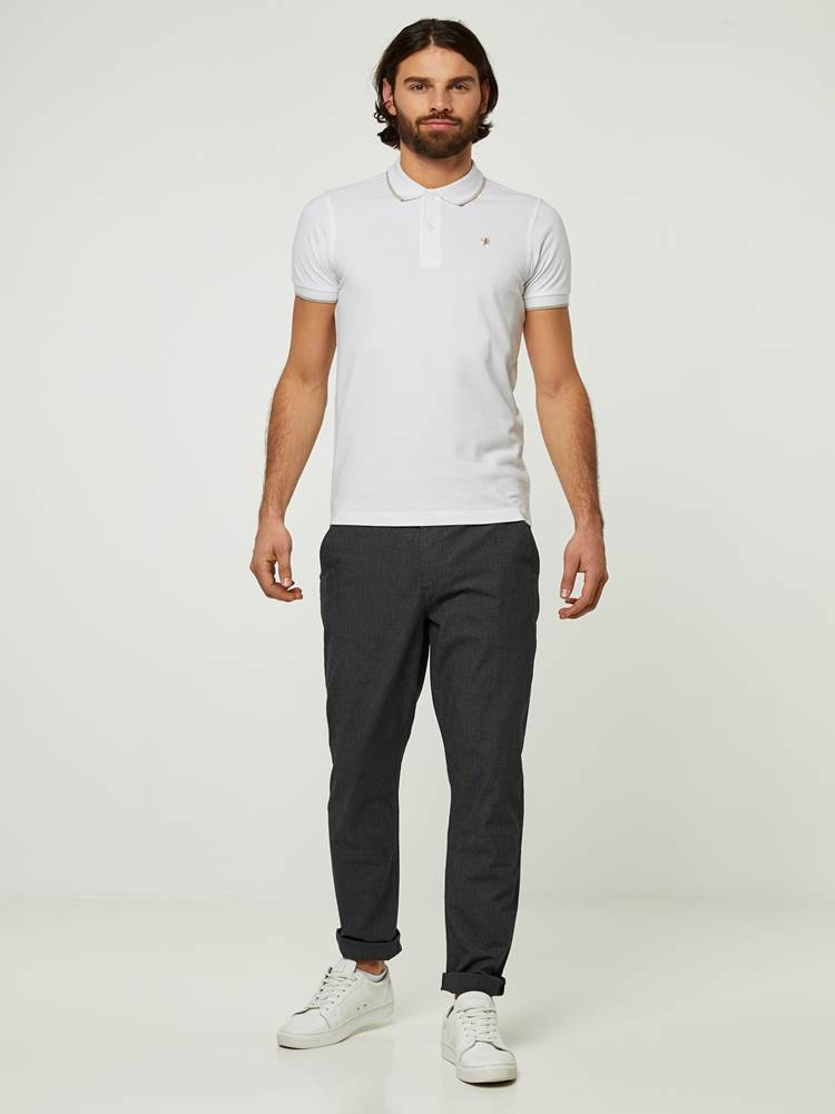 SLIM STRUCTURE STRETCH CHINO 7242667_CAB-HENRYCHOICE-S20-Modell-front_8890_SLIM STRUCTURE STRETCH CHINO CAB.jpg_Front||Front