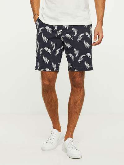 LEAVES PRINTET SHORTS C27