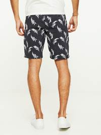 LEAVES PRINTET SHORTS 7243089_C27-HENRYCHOICE-H20-Modell-back_6811_LEAVES PRINTET SHORTS C27.jpg_Back||Back