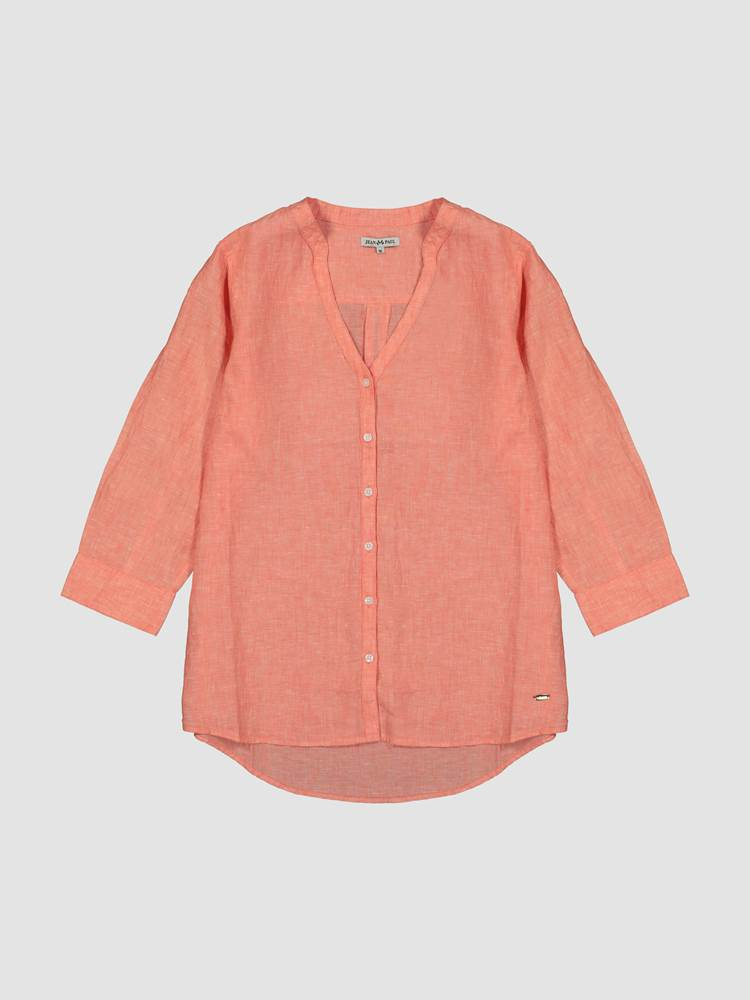 Lucia Linblouse 7243261_MKZ-JEANPAULFEMME-H20-front_96025_Lucia Linen Blouse_Lucia Linblouse MKZ.jpg_Front||Front