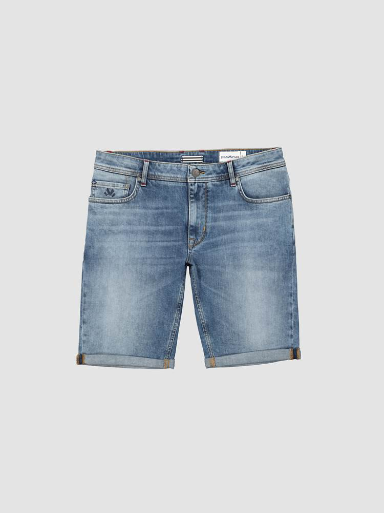 Leroy Denim Stretch Bermuda 7243009_JEAN PAUL_H20_LEROY DENIM STR. BERMUDA_17_DAD_BLÅ_799_-front_18933_Leroy Denim Stretch Bermuda DAD.jpg_