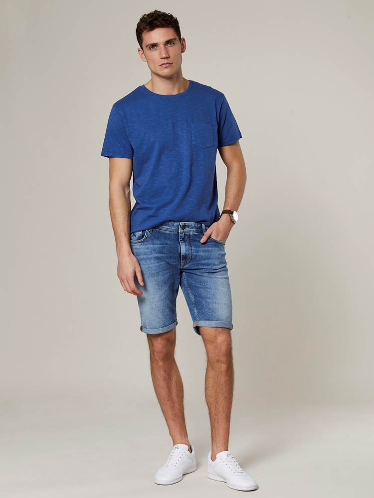 Leroy Denim Stretch Bermuda