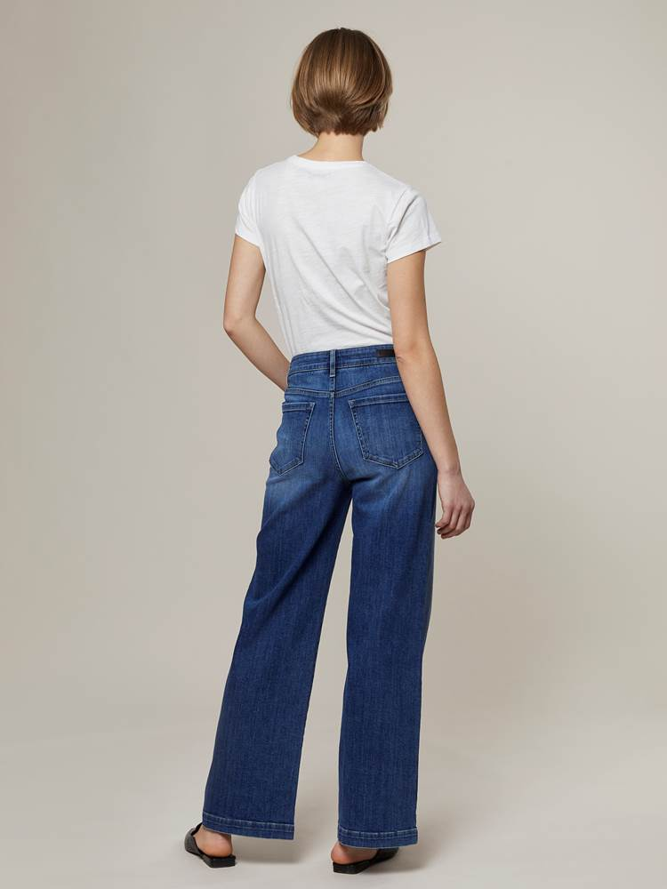 Camille Wide Jeans 7244250_D06-JEANPAULFEMME-A20-Modell-back_14116_Camille Wide Jeans D06.jpg_Back||Back