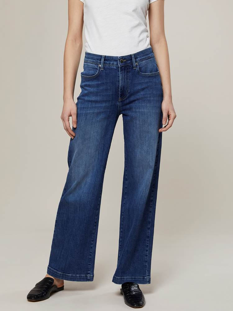 Camille Wide Jeans 7244250_D06-JEANPAULFEMME-A20-Modell-front_9209_Camille Wide Jeans D06.jpg_Front||Front