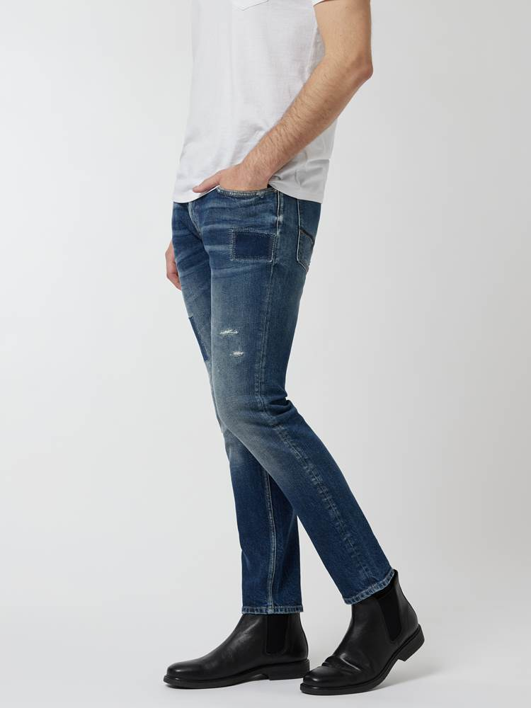Slim Bill Vintage Stretch. 7248210_DAB-HENRYCHOICE-A21-Modell-Front_chn=vic_20417_Slim Bill Vintage Stretch. DAB.jpg_Front||Front
