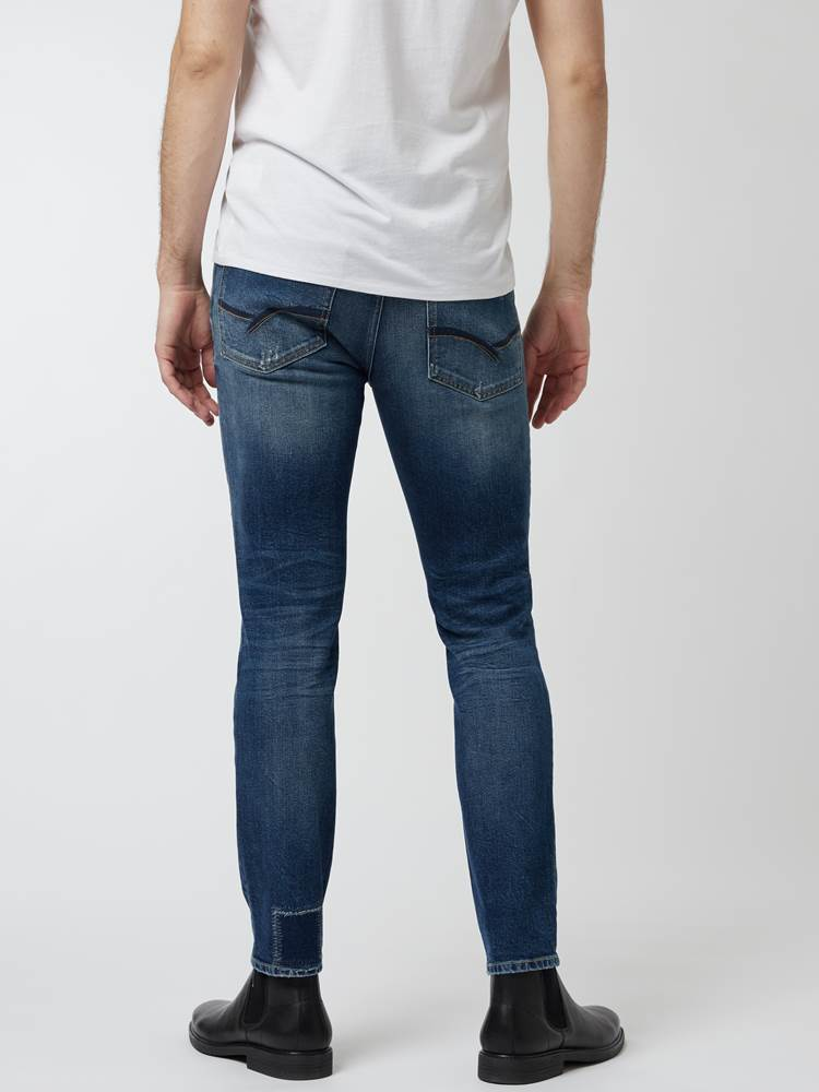 Slim Bill Vintage Stretch. 7248210_DAB-HENRYCHOICE-A21-Modell-Front_chn=vic_77048_Slim Bill Vintage Stretch. DAB.jpg_Front||Front