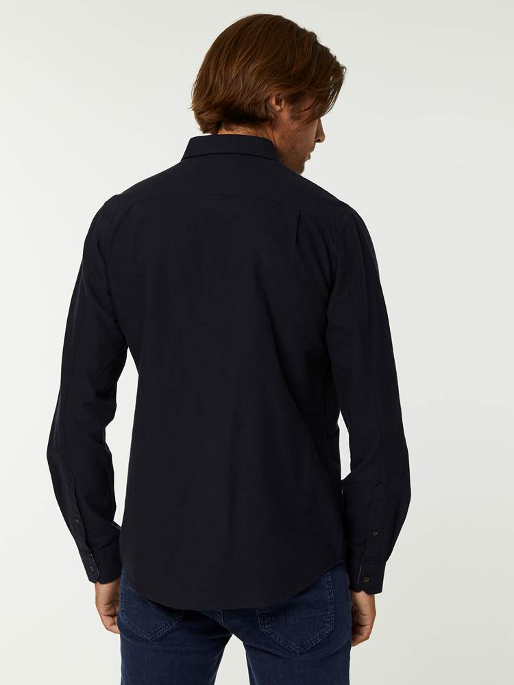 BRUSHED OXFORD SKJORTE 7244568_C27-HENRYCHOICE-A20-Modell-back_31761_BRUSHED OXFORD SKJORTE C27.jpg_Back||Back