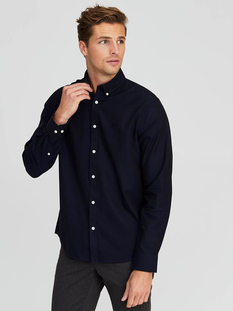 Carl Twill Skjorte - Regular Fit 7244186_EGC-JEANPAUL-A20-Modell-front_24965_Carl Twill Skjorte - Regular Fit EGC.jpg_Front||Front