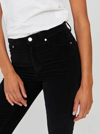 Sabine Cord Flare Bukse 7244330_CAB-JEANPAULFEMME-A20-Modell-front_40645_Sabine Cord Flare Bukse CAB.jpg_Front||Front