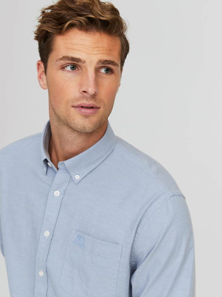 Keith Flanell Skjorte - Classic Fit 7245187_E9O-JEANPAUL-W20-Modell-front_15013_Keith Flanell Skjorte- Classic fit E9O_Keith Flanell Skjorte - Classic Fit E9O.jpg_Front||Front