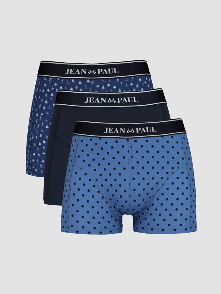 The Blue 3 Pack Boxer 7245327_EOT-JEANPAUL-W20-front_The Blue Pack_The Blue 3 Pack boxer EOT_The Blue 3 Pack Boxer EOT.jpg_Front||Front