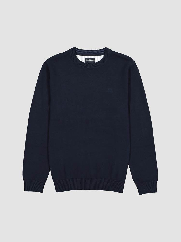 Antibes Genser 7245086_EM6-JEANPAUL-W20-front_16376_Antibes Crewneck Knit_Antibes Genser EM6_Antibes Genser EM6 7245086 7245086 7245086 7245086 7245086.jpg_Front||Front